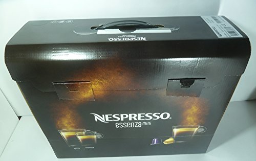 NESPRESSO ESSENZA MINI BLACK C30-ME-BK-NE COFFEE MACHINE,220-240V